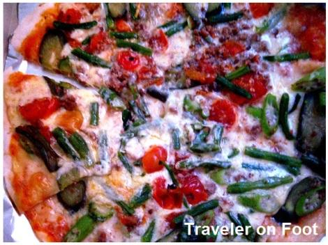 Ilocos pinakbet pizza
