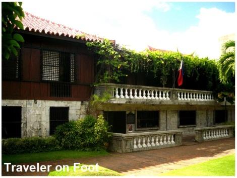 Cebu Casa Gorordo garden