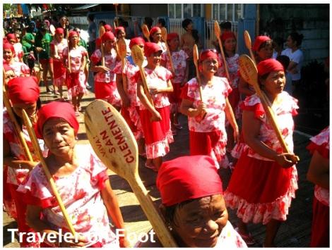 Higantes Festival parehadoras