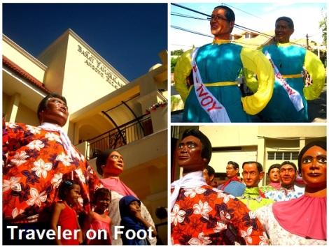 Higantes Festival poilitical protest
