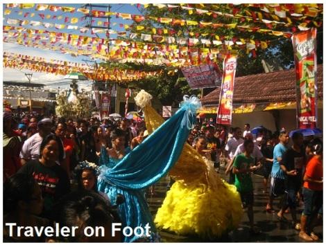 Higantes Festival Virgin Mary