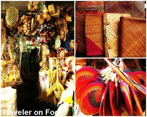 Filipino Handicrafts Under The Bridge In Quiapo Traveler On Foot
