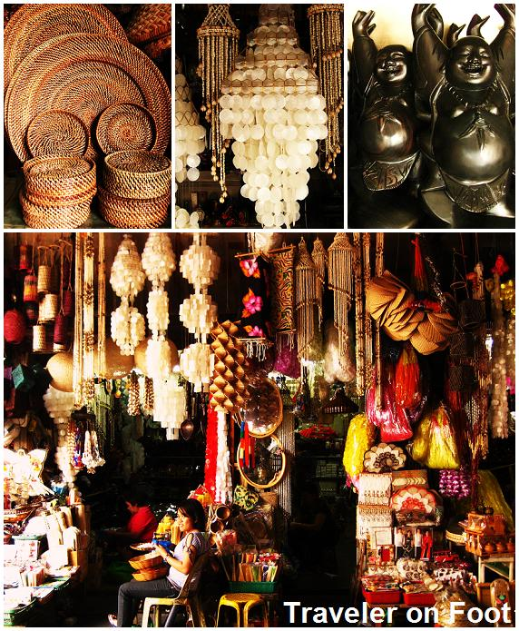 Filipino Handicrafts Under The Bridge In Quiapo Traveler On Foot