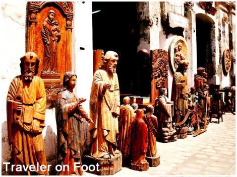 Philippine Antique Furniture Traveler On Foot