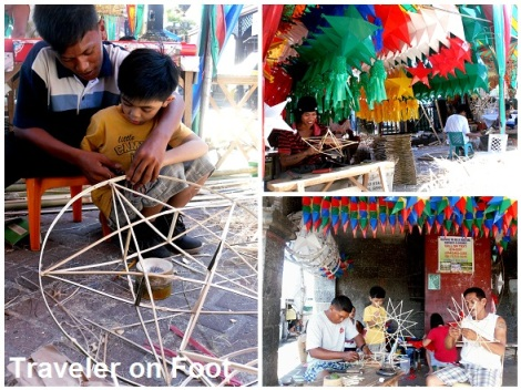 parol making from bamboo