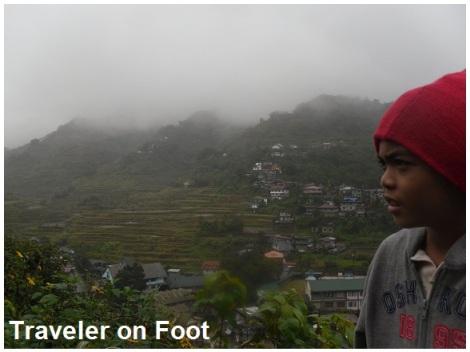 Banaue raining
