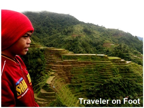 Banaue Rice Terraces viewpoint