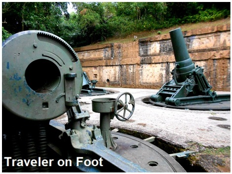 Corregidor Battery Way guns