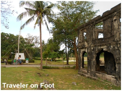 Corregidor flagpole