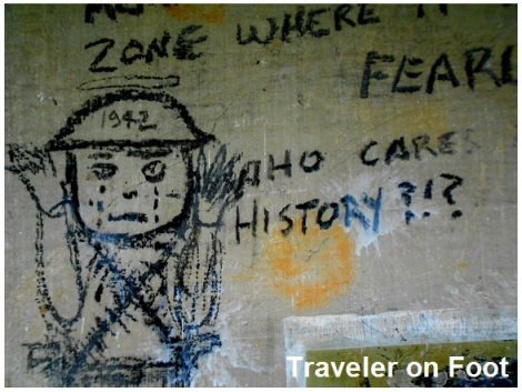 Corregidor graffiti