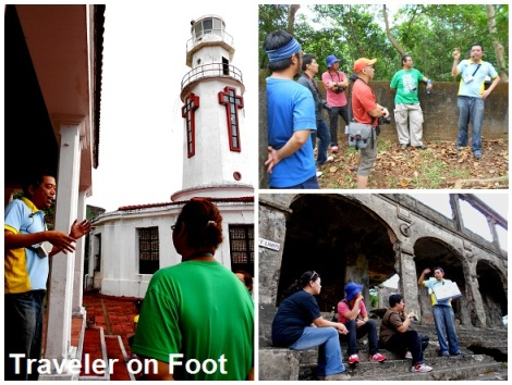 Corregidor walking tour with Ivan Dy