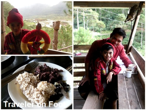 Sagada Gaia Cafe view deck