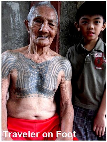 Tinglayan Kalinga warrior