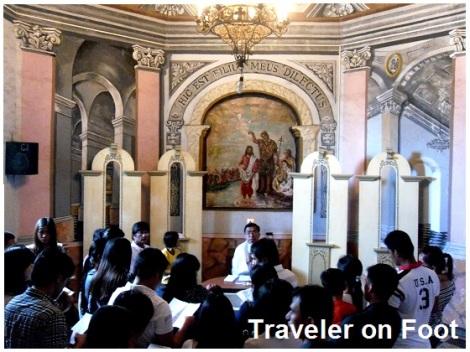 Lipa Cathedral baptistry