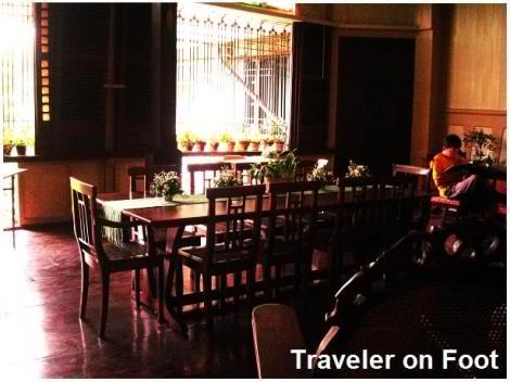 Bahay nakpil-bautista dining room