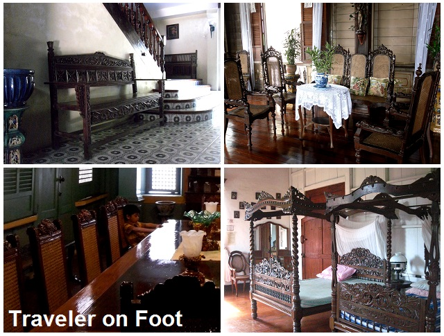 Antique Furniture Traveler On Foot