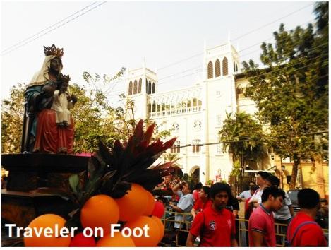 Pista ng Sto Nino procession