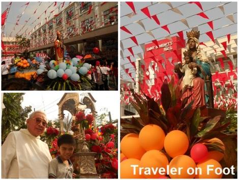 Pista Santo Nino Procession San Beda