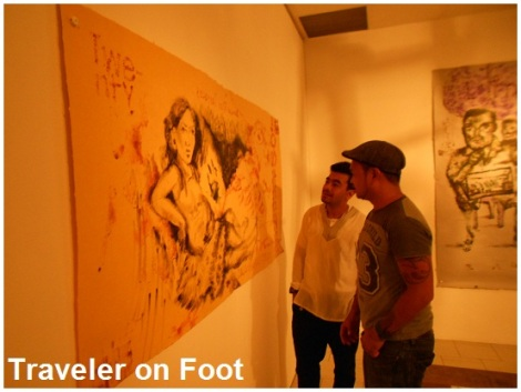 Lopez Museum Joey Cobcobo art