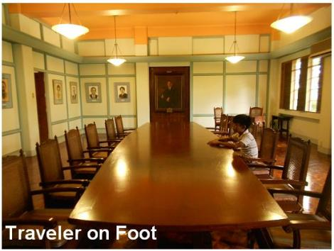 FEU Heritage Tour Board room