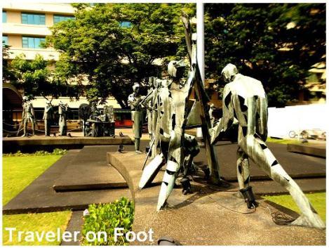 FEU Heritage Tour Manasala sculpture