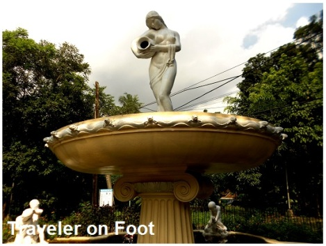 Balara Filters Park fountain