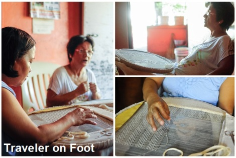 Lumban embroiderers