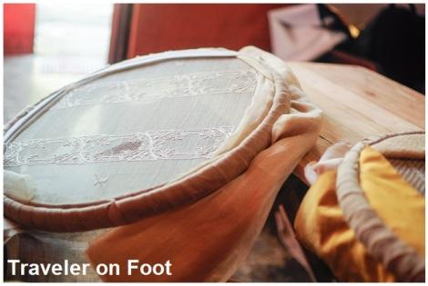 Lumban embroidery tambor