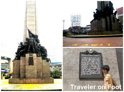 Monumento inauguration