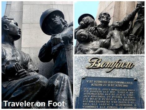 Monumento Tolentino sculpture