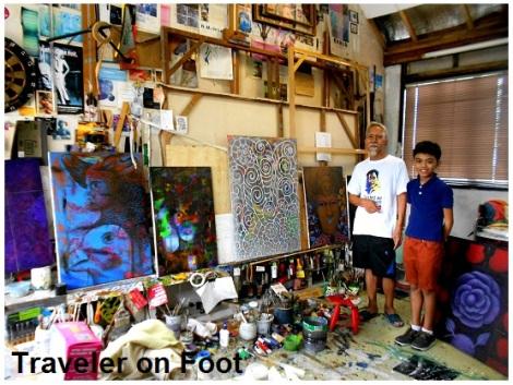 Raul Lebajo home studio