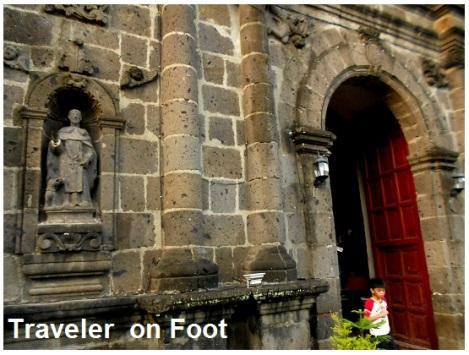 Tanay church facade
