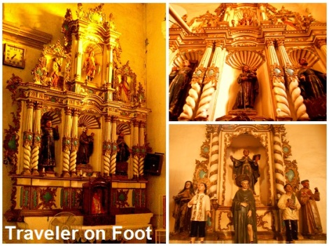 Tanay Church side altars