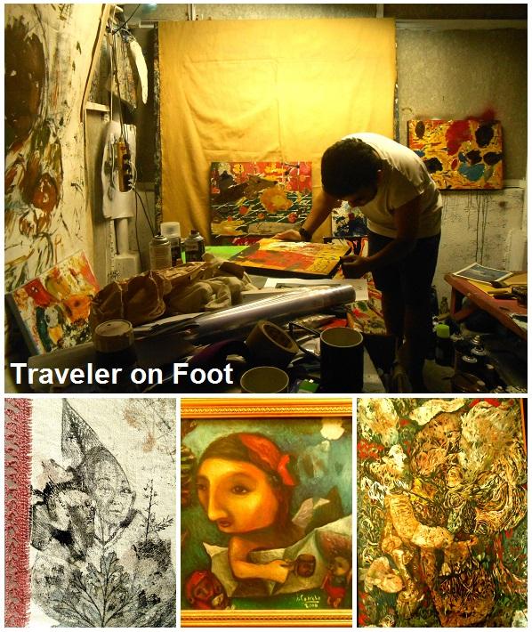 Art Spaces Traveler On Foot